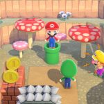 El contenido temático de Super Mario Bros.  Llegando a Animal Crossing: New Horizons en marzo