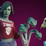 Se filtró el paquete desafío de Fortnite de serpientes y piedras – Piel de Lyra