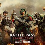 Todos los niveles y recompensas del pase de batalla de la temporada 4 en Warzone y Black Ops Cold War